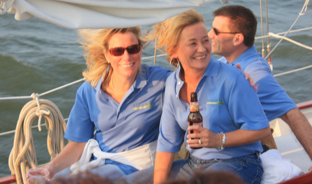 Corporate Cruise on the Schooner Woodwind