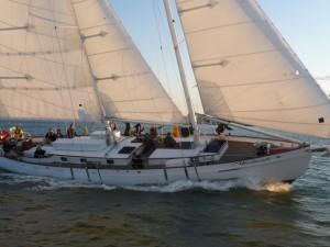Crew on the Schooner Woodwind in Annapolis