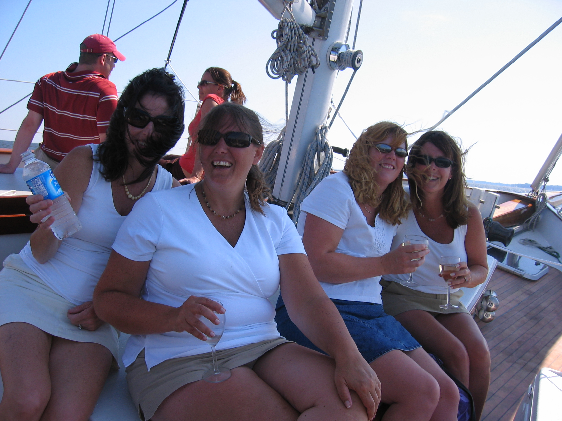 Raise your glasses and toast to your special occasion on a private charter.