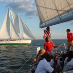 Wednesday Night Racing in Annapolis on the Schooner Woodwinds