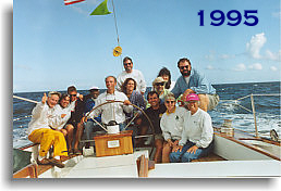 1995 Great Chesapeake Bay Schooner Race Crew