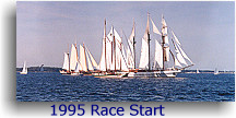 1995 Great Chesapeake Bay Schooner Race Start