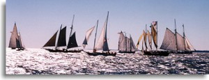 1999 Great Chesapeake Bay Schooner Race Start