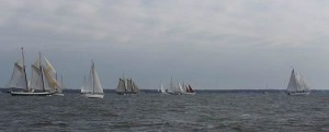 2007 Great Chesapeake Bay Schooner Race Start