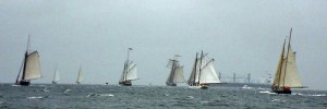 2009 Great Chesapeake Bay Schooner Race Start