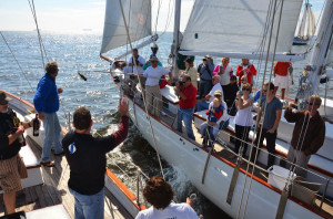 Start of Schooner Race 2013