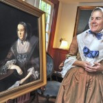 Diane Rey portrays Maryland Gazette publisher Anne Cathrine Green for Historic Annapolis.