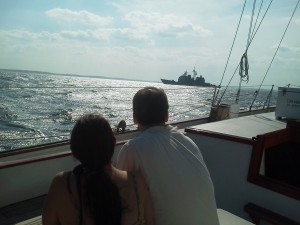 USS Gettysburg visits Annapolis and the Chesapeake Bay