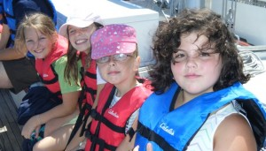 Girl Scouts Sailing in Annapolis on a Schooner