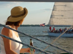 Team Building under sail while enjoying great craft beers