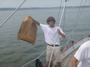 Cleaning up the Chesapeake Bay aboard Woodwind