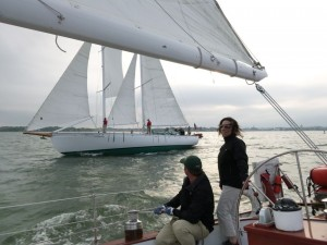 Wednesday Night Racing in Annapolis Harbor