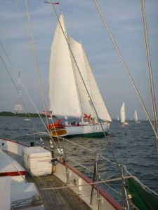Annapolis Wednesday Night Racing aboard Schooner Woodwind