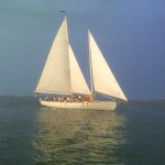 Sunset cruise on the bay