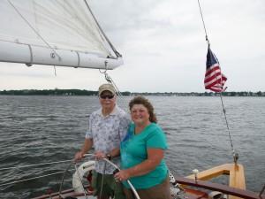 4oth Wedding Anniversary sailing on the Schooner Woodwind!