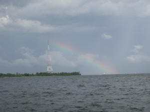 Rainbow over Greenbury Point, Annapolis