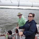 Fun loving group from Cincinnati aboard the Schooner Woodwind II