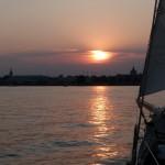 Sunset Over the Annapolis Skyline