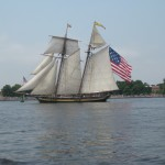 Pride of Baltimore II at Fort McHenry