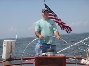Bill's Birthday aboard Woodwind