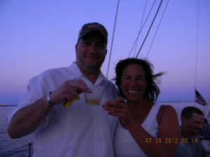 Sailing aboard the Woodwind II for a dinner cruise
