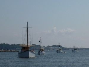 Oyster Buyboats in Annapolis Harbor