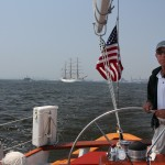 Captain Ken at the Helm