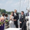 Wedding aboard the Schooner Woodwind II