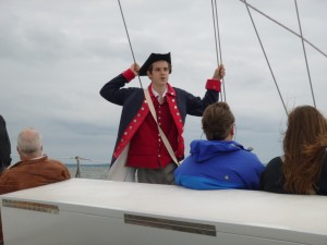 William as John Sands on History Monday