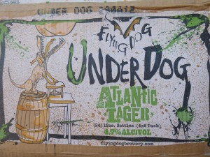 Flying Dog's new Atlantic Lager