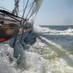 Blasting along at 10+ knots
