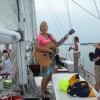 Deanna Dove aboard The Schooner Woodwind