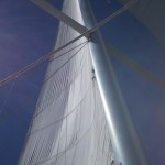 Sails in the Blue sky