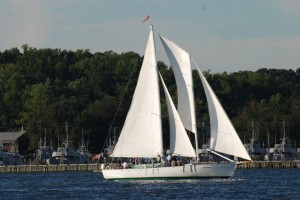 Woodwind sailing cruises, Annapolis Waterfront Hotel, schooner