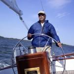 Captaining the schooner