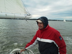 Ed from Vienna, VA captaining the Woodwind II