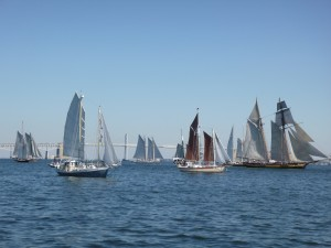 Part of the Fleet at the start