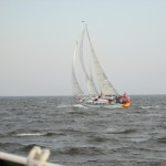 Racing the Woodwind Schooner