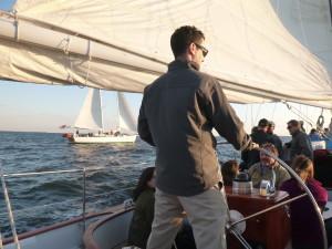 Sailing the Woodwind II alongside Woodwind