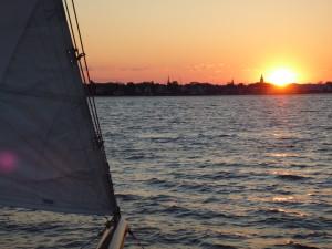 Sunset on the Annapolis Skyline