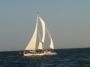 Woodwind II blasting along in the breeze!!