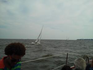 Racing photos on the Bay