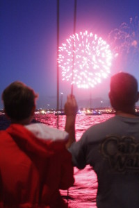 """""""The Rockets Red Glare, Bombs Bursting In Air"""""""
