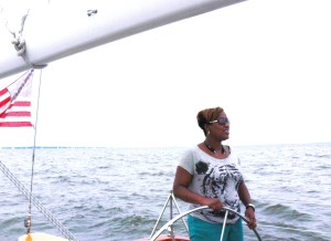 Keisha looks forward to sailing her own boat someday.