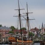 Old School Schooner in Annapolis Harbor