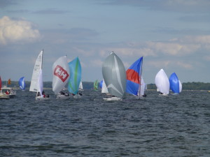 The fleet for the J 70s North American Championships