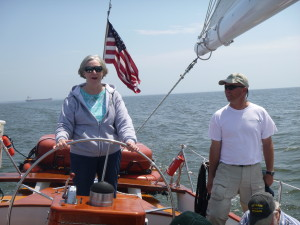 Carol and Capt. Andy