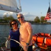 Cruising back to the Marriott Dock