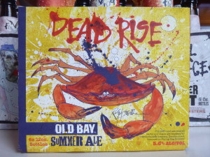 Dead Rise beer on the Schooner Woodwind