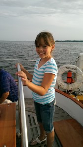 Alex, from Long Island, sailing the Woodwind